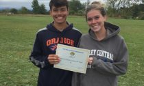 Kylee Kresge and Jordan Medina, Orange Cross Country