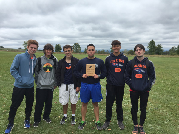 SUNY Orange Cross Country Team