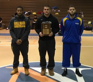 UCCC Wrestling at the North East District Championships