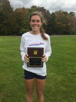 Kylee Kresge (Orange), 2018 Most Valuable Player for Women's Cross Country.