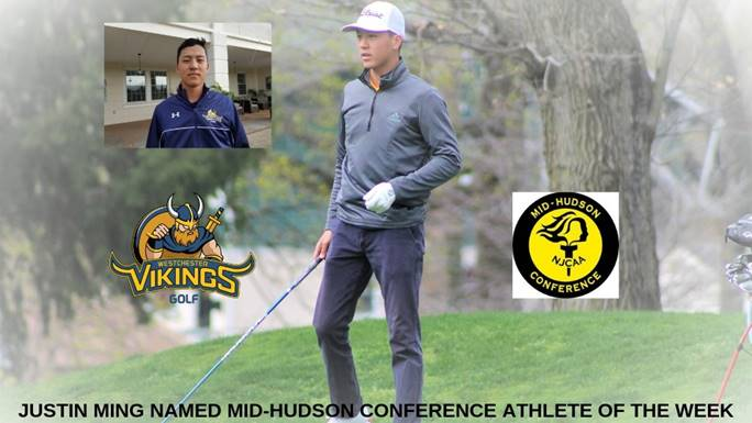 Justin Ming, Athlete of the Week ,Westchester Golf